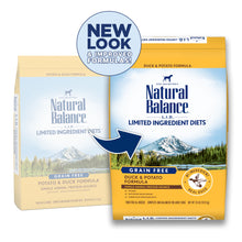Load image into Gallery viewer, Natural Balance L.I.D. Limited Ingredient Diets Potato & Duck Dry Dog Food
