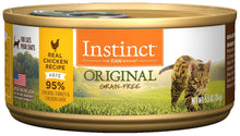 Load image into Gallery viewer, Instinct Grain-Free Chicken Formula Canned Cat Food