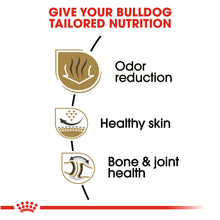 Load image into Gallery viewer, Royal Canin Breed Health Nutrition Bulldog Adult Dry Dog Food