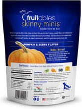 Load image into Gallery viewer, Fruitables Skinny Mini Pumpkin & Blueberry Dog Treats