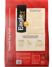 Load image into Gallery viewer, Eagle Pack Natural Large Breed Health Formula Dry Dog Food