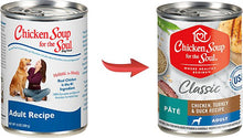 Load image into Gallery viewer, Chicken Soup For The Soul Adult Canned Dog Food