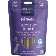 Load image into Gallery viewer, N-Bone Get Naked Grain Free Digestive Health Dental Chew Dog Treats