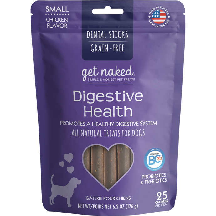 N-Bone Get Naked Grain Free Digestive Health Dental Chew Dog Treats