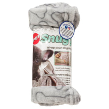 Load image into Gallery viewer, Ethical Pet Grey Bones Snuggler Blanket