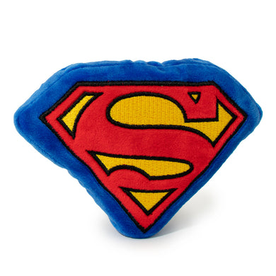 Buckle Down Superman Shield Plush Dog Toy