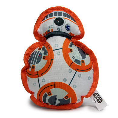 Buckle Down Starwars BB8 Canvas Squeaky Plush Dog Toy