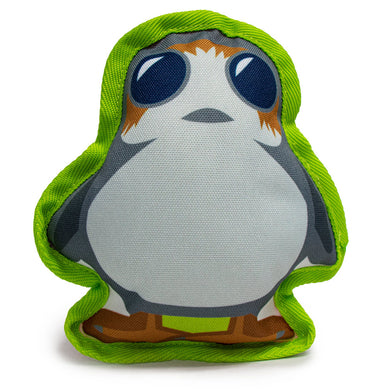 Buckle Down Star Wars Porg Canvas Squeaky Plush Dog Toy