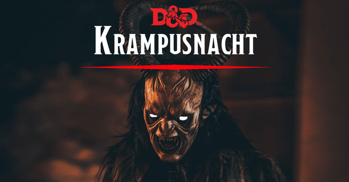 Krampusnacht: A Free D&D Adventure of Holiday Horror and DM Revenge