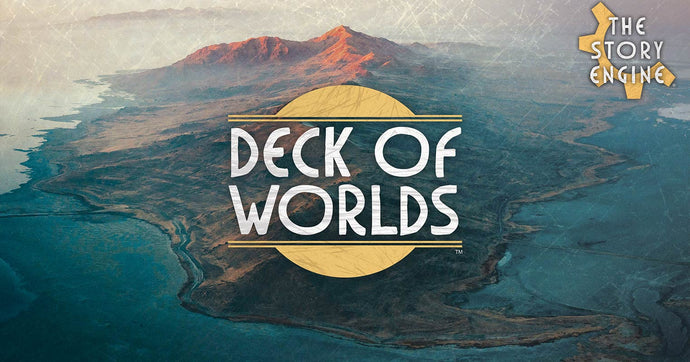 The Story Engine: Deck of Worlds Now LIVE on Kickstarter
