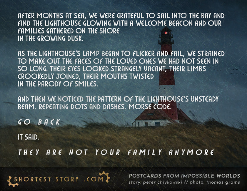 The Welcome // a scary story about a lighthouse