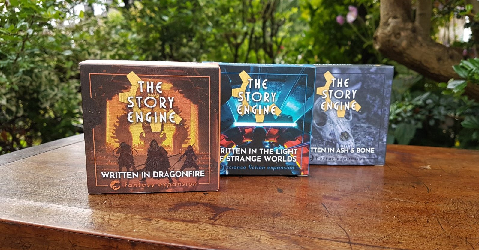 The Story Engine fantasy, since fiction, and horror expansions