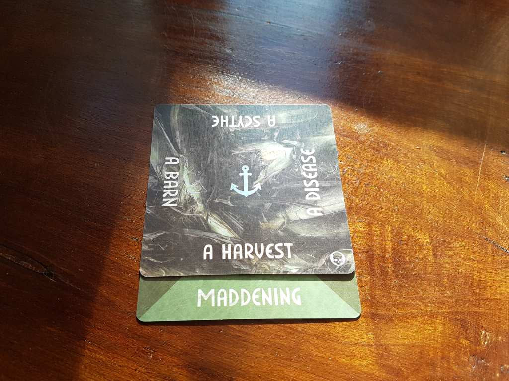 Horror writing prompt: A maddening harvest.