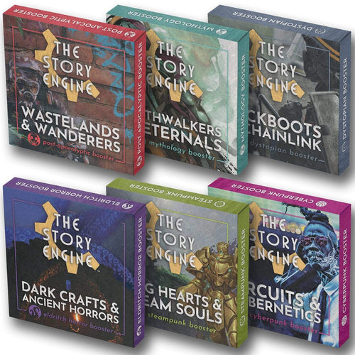 Writing Prompt Booster Sets Booster Set of 6 The Story Engine Deck
