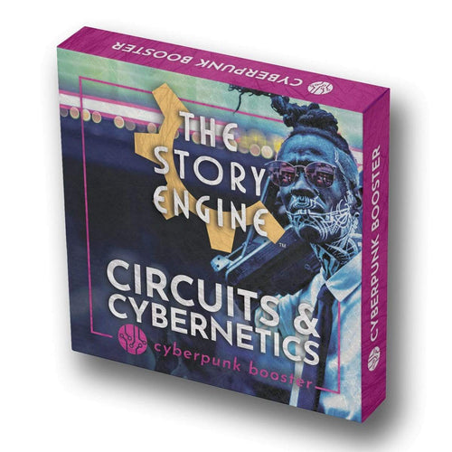 Writing Prompt Booster Sets Cyberpunk Booster: Circuits & Cybernetics The Story Engine Deck