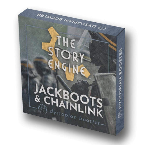 Writing Prompt Booster Sets Dystopian Booster: Jackboots & Chainlink The Story Engine Deck