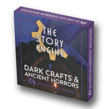 Load image into Gallery viewer, Writing Prompt Booster Sets Eldritch Horror Booster: Dark Crafts & Ancient Horrors The Story Engine Deck
