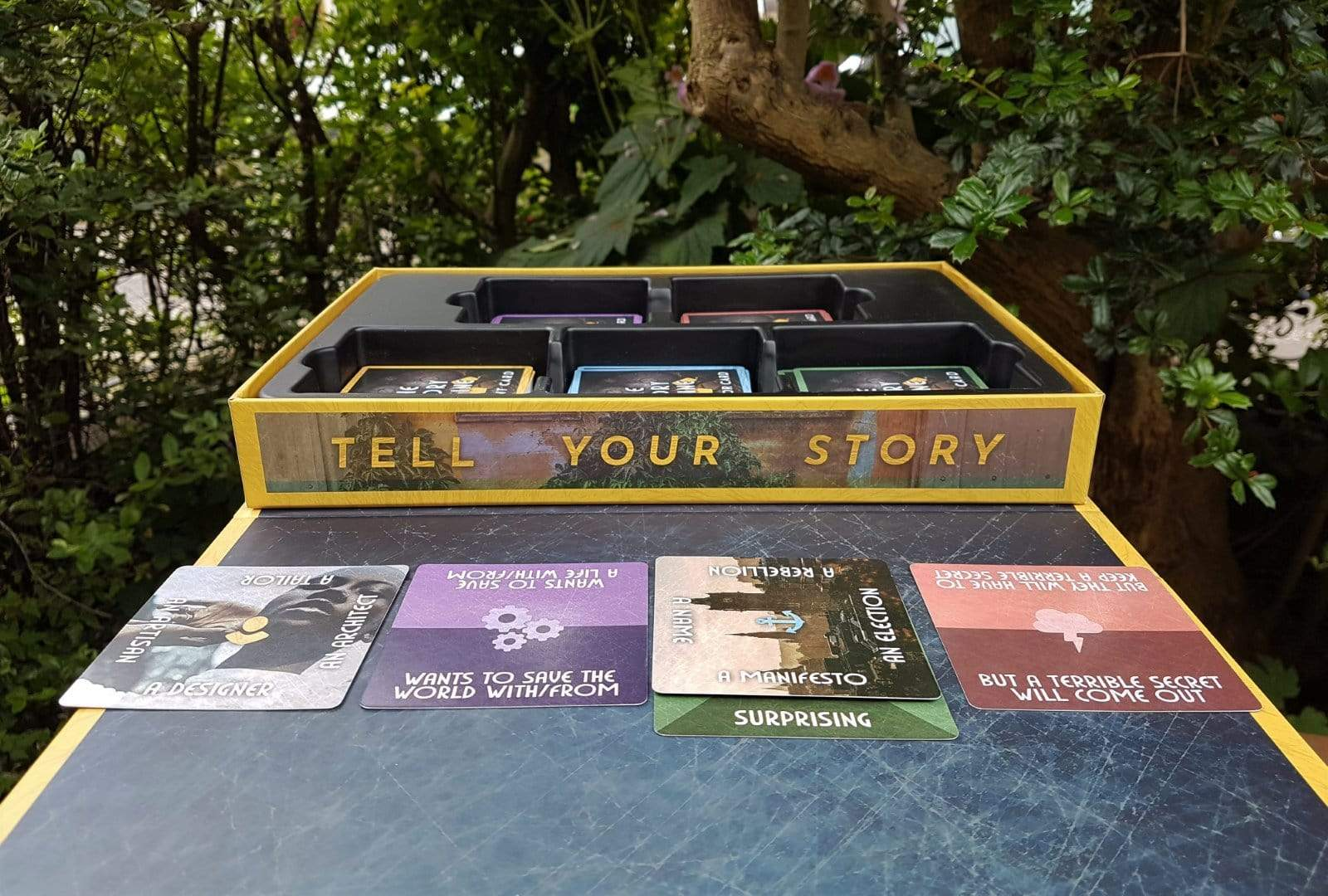 The Story Engine Deck of writing prompts