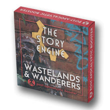 Load image into Gallery viewer, Writing Prompt Booster Sets Post-Apocalyptic Booster: Wastelands & Wanderers The Story Engine Deck
