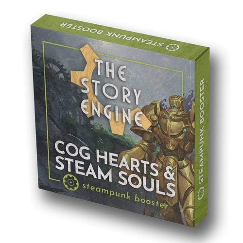 Writing Prompt Booster Sets Steampunk Booster: Cog Hearts & Steam Souls The Story Engine Deck