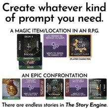 Load image into Gallery viewer, Writing Prompt Deck Bundles The Story Engine Main Deck + PDF Bundle The Story Engine Deck