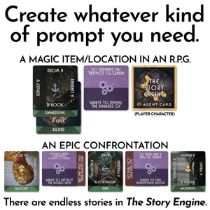 Writing Prompt Deck Bundles The Story Engine Main Deck + PDF Bundle The Story Engine Deck