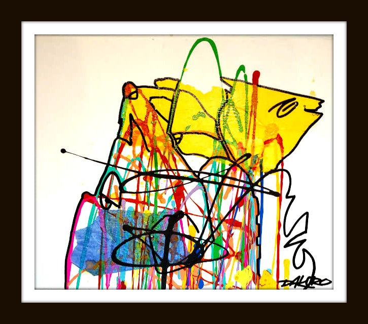 All Over the Place art print by Dakoro - Dakoro Art