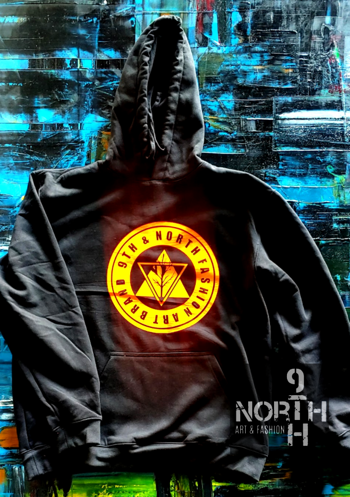 Go Harder Hoodie by 9thandnorth - Dakoro Art