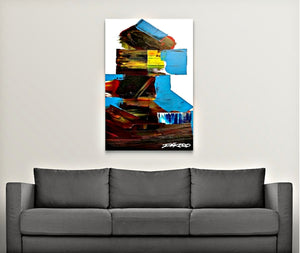 PERSPECTIVE canvas fine art print by Dakoro - Dakoro Art