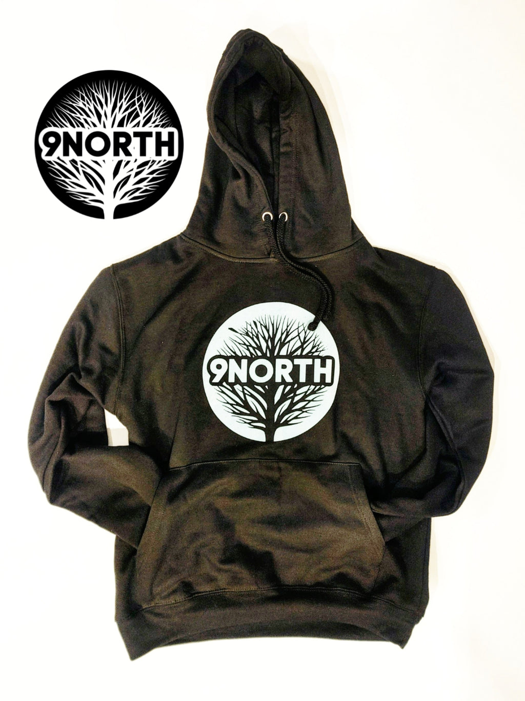 SILVER BACK hoodie by 9ThandNorth - Dakoro Art