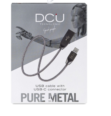 CABLE USB TIPO C A USB PURE METAL 1M