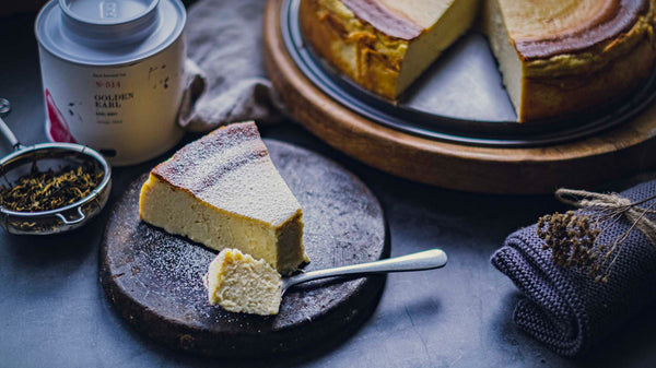 GOLDEN EARL BASQUE CHEESECAKE [RECIPE]