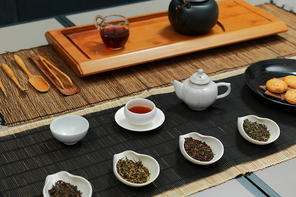 Black Tea Seminar in gongfu at Paper & Tea Berlin