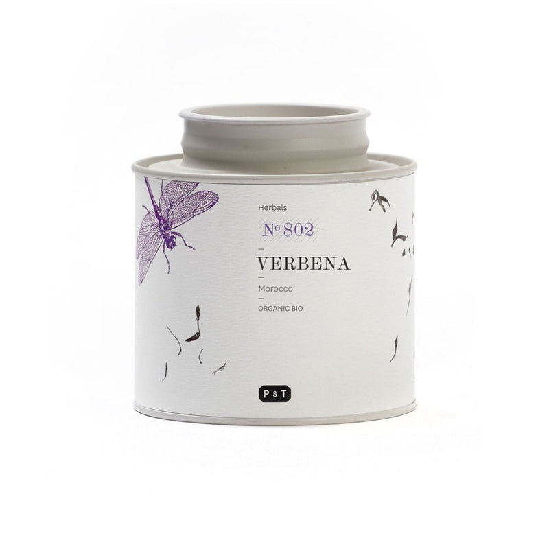 Verbena N°802 lemon, herbaceous, fresh A refreshing verbena herbal infusion with lemon notes. Herbal, Morocco Paper & Tea