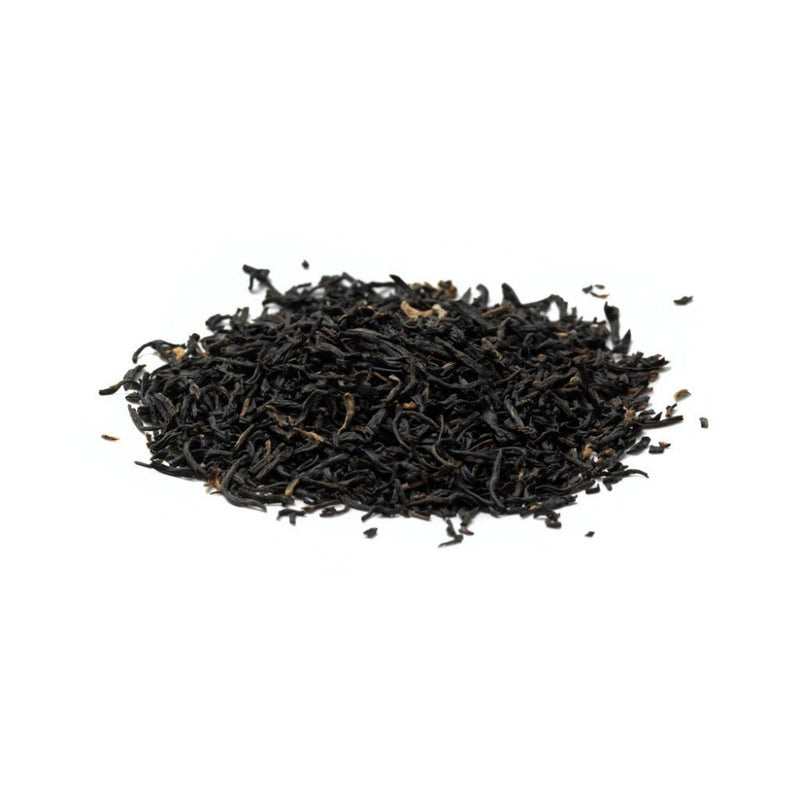 dried plum, pine, rose A Keemun, well-known black tea from China. Black Tea, Anhui, China 1876 N°511 Paper & Tea