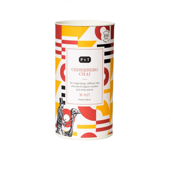 Cederberg Chai N°817 spicy-sweet pineapple, paprika, coconut An invigorating, caffeine-free chai tea of organic rooibos and zesty spices Herbal, Master Blend Paper & Tea