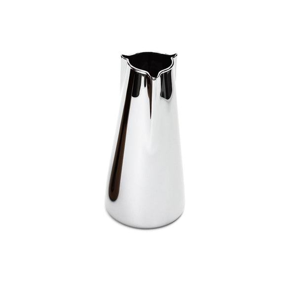 Becchi Carafe Silver  A glass carafe with a metal finish: Holds 1000 ml.  Serving Pot Paper & Tea