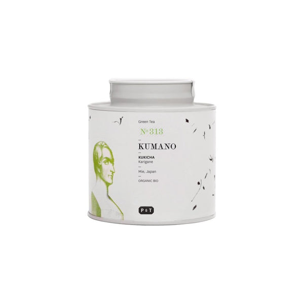 Kumano N°313 fresh, fruity, grassy A Japanese green tea blend of stems, sencha and gyokuro leaves. Green Tea, Kukicha, Japan Paper & Tea