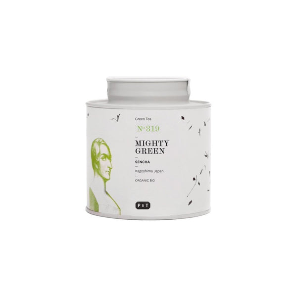 Mighty Green N°319 meadow grasses, fresh herbs, green tomatoes A rich premium Japanese sencha green tea for daily enjoyment Green Tea, Sencha, Japan Paper & Tea