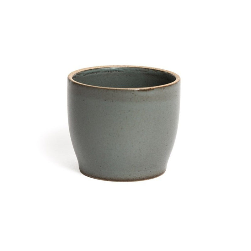 Nori Cup grey  A porcelain cup with a matte glaze: Holds 200 ml. Cup Paper & Tea