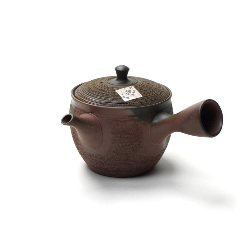Tokoname Kyusu  A traditional Japanese side-handled pot made from Tokoname clay: Holds 150 ml. Teapot Paper & Tea