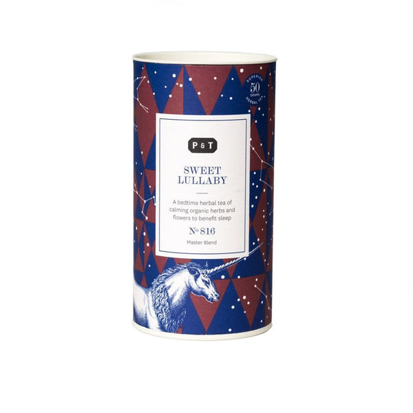 Sweet Lullaby N°816 apple blossom, honey, grapefruit, rose A bedtime herbal tea of calming organic herbs and flowers to benefit sleep Herbal, Master Blend Paper & Tea