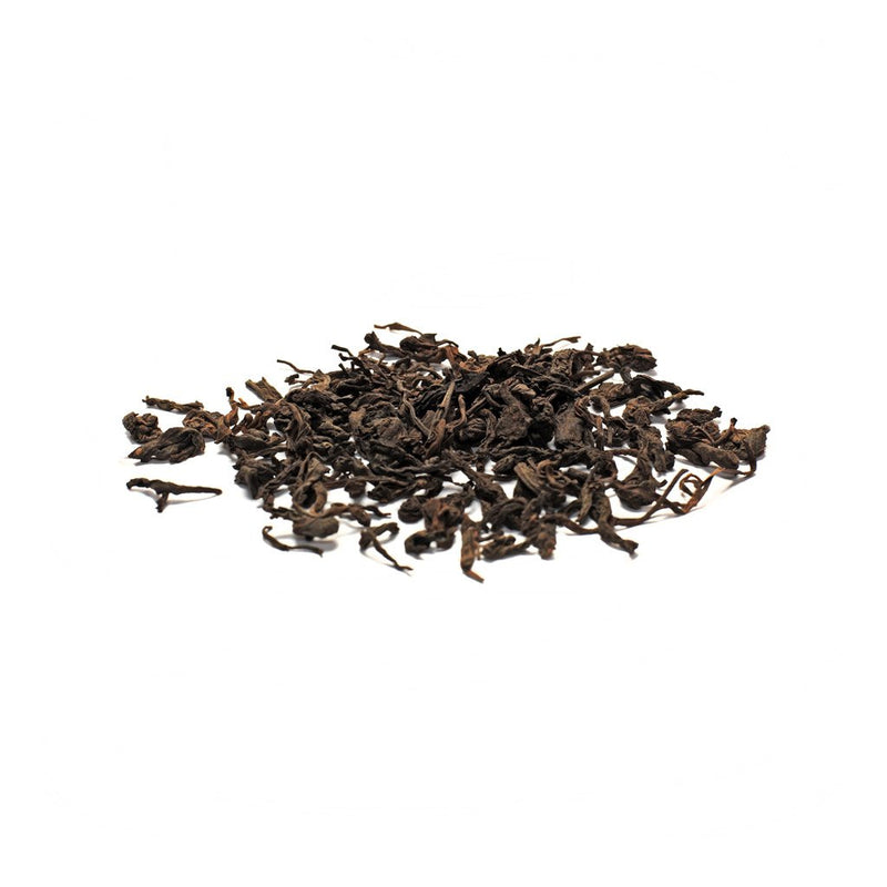 Vintage Lotus N°601 earthy, licorice, black currant A Shou Pu-erh, fermented tea with a deep earthy flavor.  Pu-erh Tea Paper & Tea