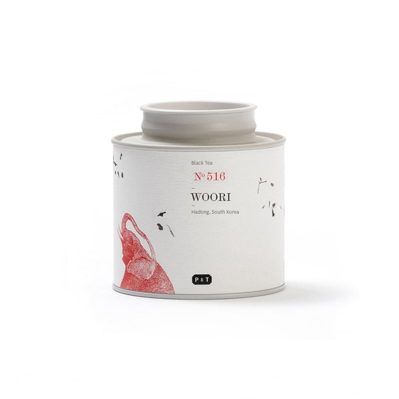Woori N°516 cocoa, peanut, caramel, sesame, earthy A rare and limited black tea of the highest grade from South Korea.   Black Tea, Hadong, South Korea Paper & Tea
