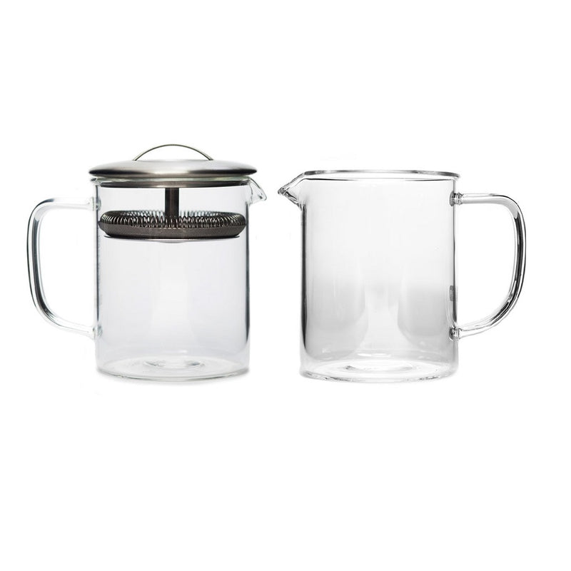Cylinder Serving Pot small  A glass decanter for the Cylinder Pot: Holds 400 ml. Serving Pot Paper & Tea