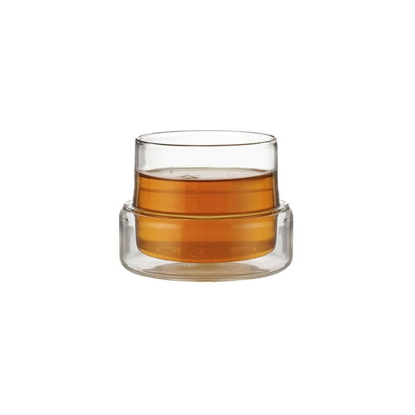 Emma cup  A double-walled glass cup: Holds 100 ml. Cup Paper & Tea