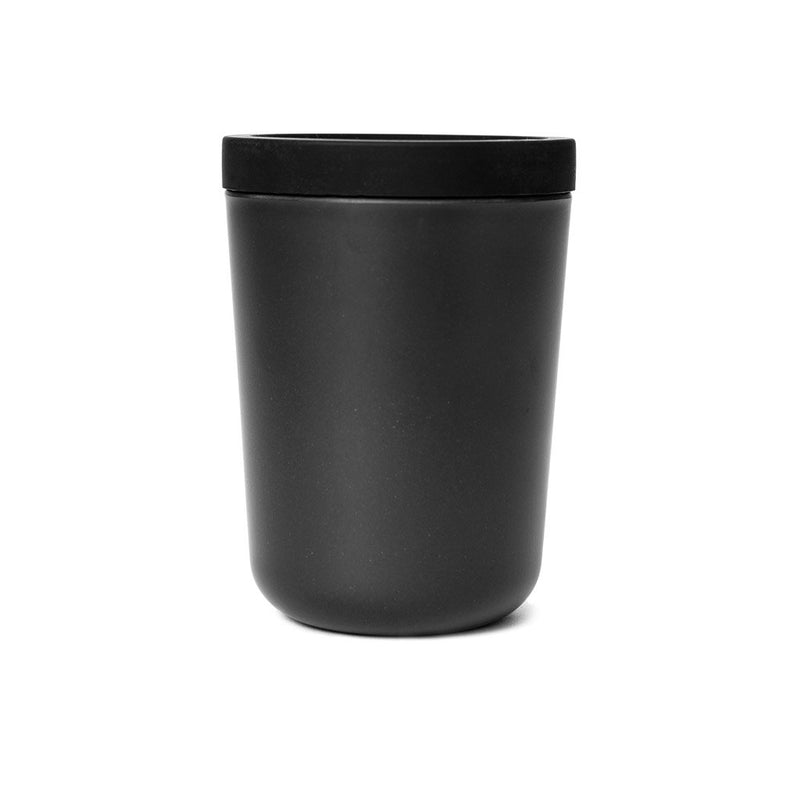 Bamboo To-Go Cup Black  A portable cup made from bamboo with a silicon lid: Holds 350 ml. Cup Paper & Tea