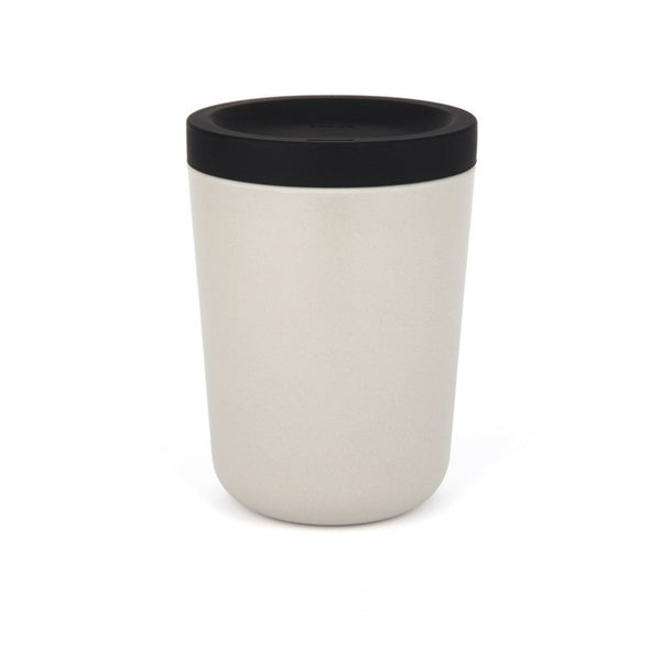 Bamboo To-Go Cup Stone  A portable cup made from bamboo with a silicon lid: Holds 350 ml. Cup Paper & Tea
