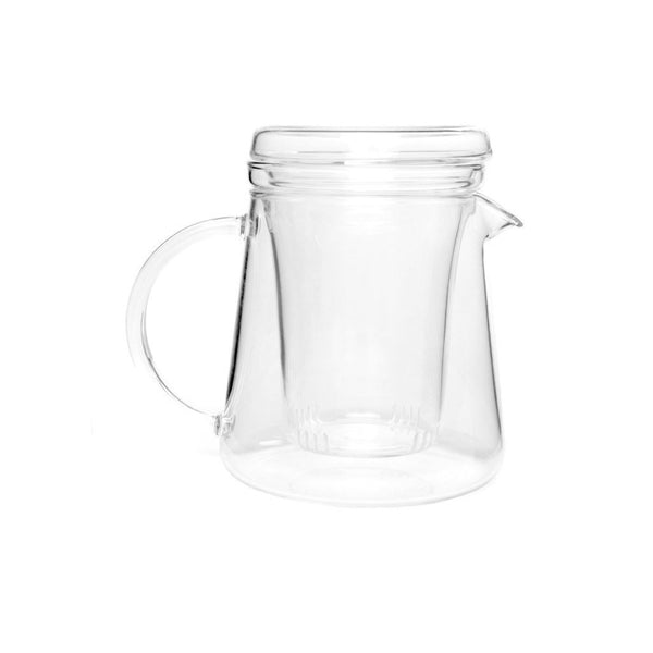 Haus Tea Pot  A heat-resistant glass teapot with removable strainer: Holds 400 ml.  Teapot Paper & Tea