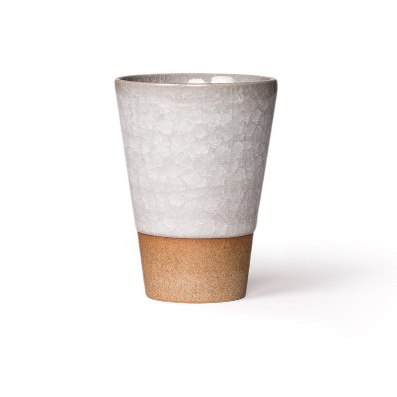 Humpty Dumpty Drinking Cup grey  A glazed cup with crackle glaze: Holds 250 ml.  Cup Paper & Tea